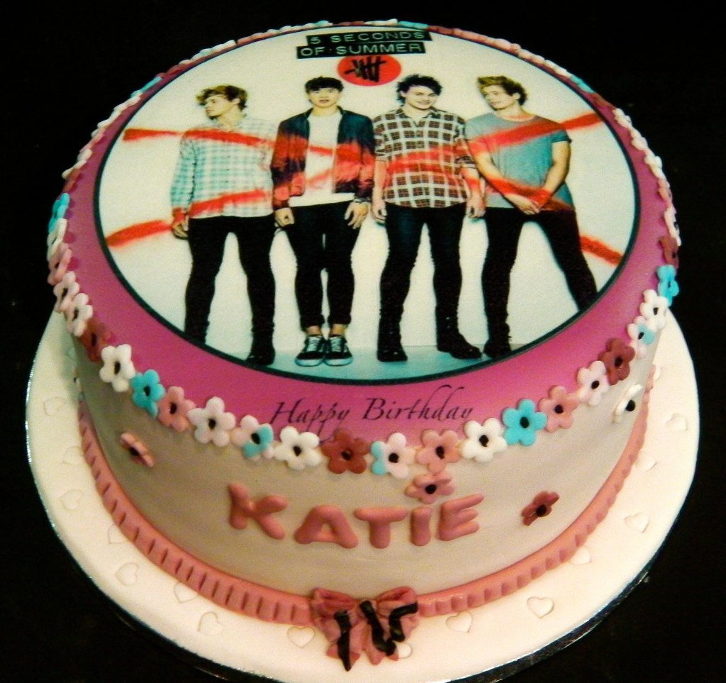 One Direction Birthday Cake Decorations