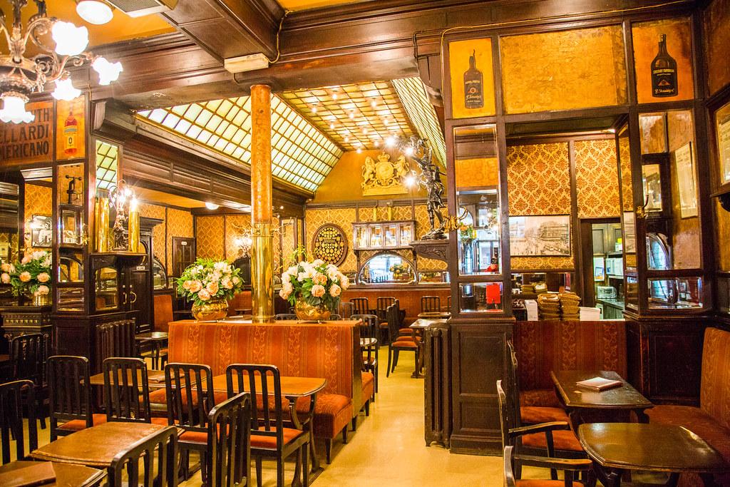 Bruxelles Le Cirio Brasserie Art Nouveau Europe