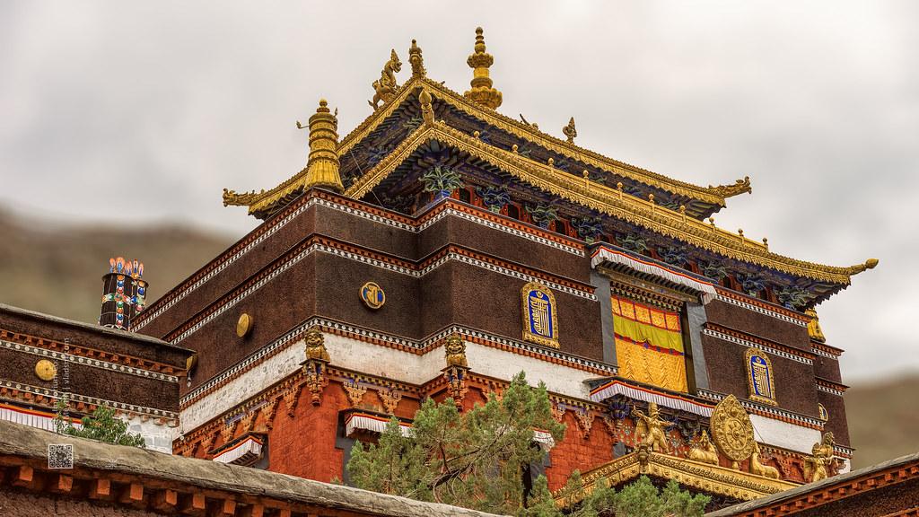Tibet, a traditional buddhist temple (China), 06-2016, 65 (Vlad Meytin, vladsm.com)
