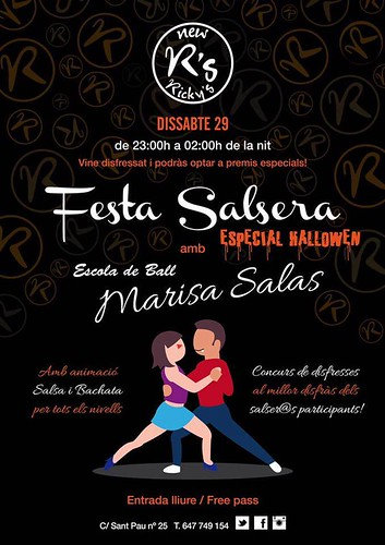 29/10 Fiesta Salsera de Halloween en New Ricky's
