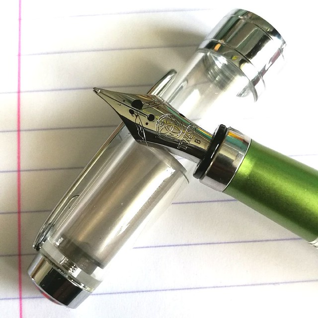 TWSBI al green with MB jonathan swift