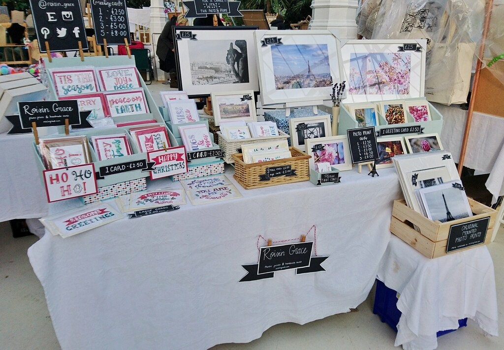 My craft stall at the Artisans in the Palm House, Liverpool
