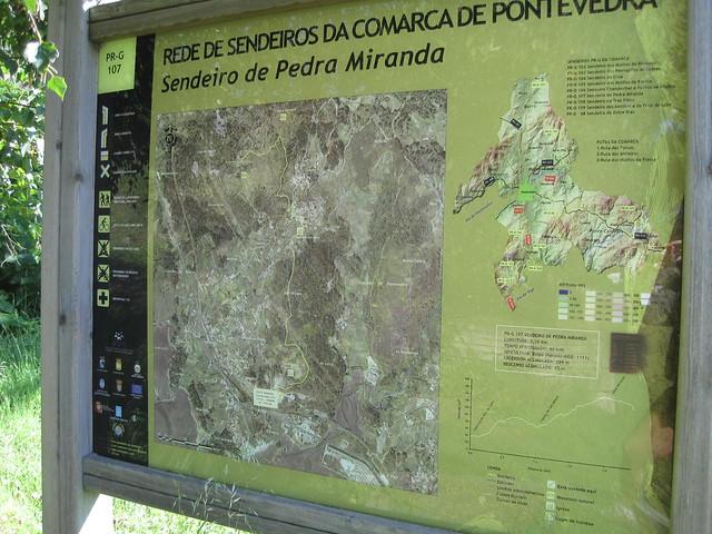 Panel Informativo PR-G 107 Sendeiro de Pedra Miranda