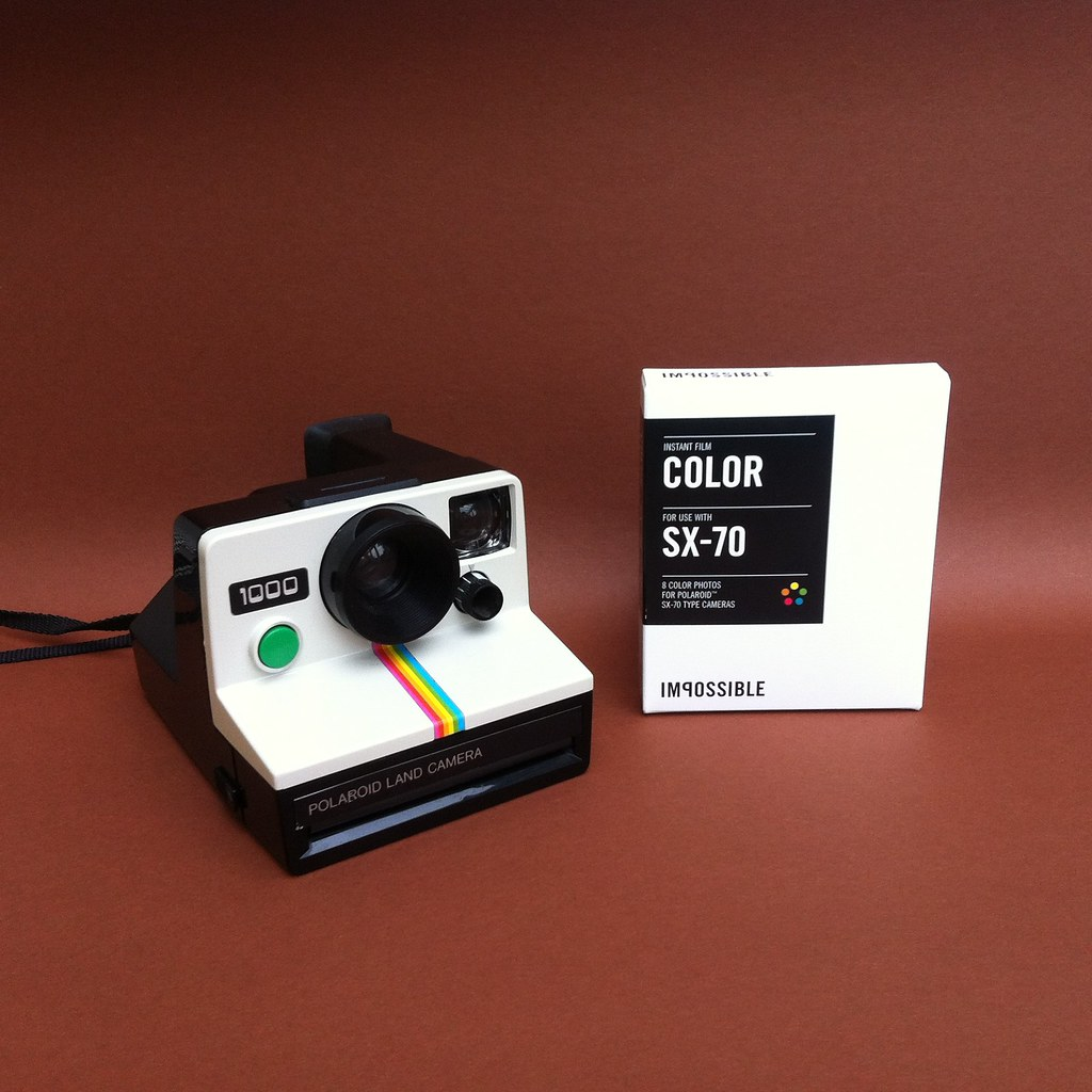 polaroid 1000 land camera bought myself a pack of sx 70 p flickr. Black Bedroom Furniture Sets. Home Design Ideas