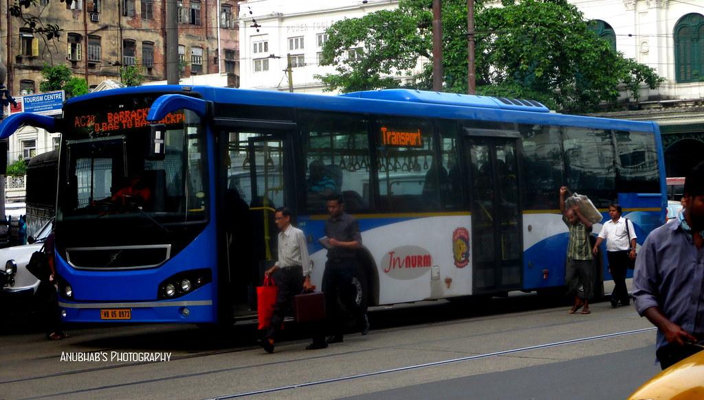 The New Volvo Buses Of Kolkata Jnnurm2 Scheme Ac Volvo