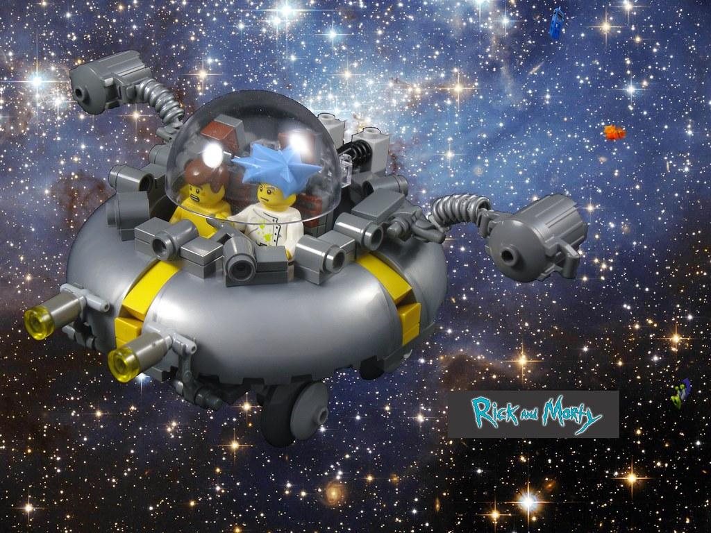 Lego 174 Rick And Morty Wabalabadupdup So Earlier This