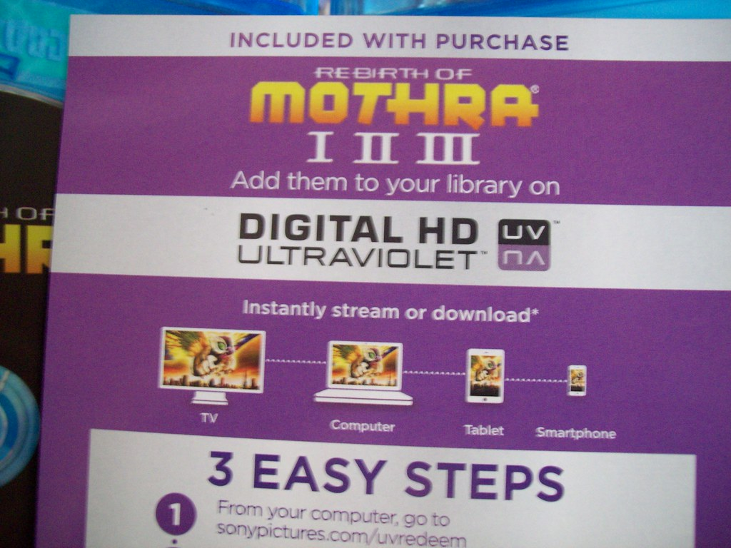 rebirth of mothra trilogy blu ray digital hd ultraviole flickr. Black Bedroom Furniture Sets. Home Design Ideas