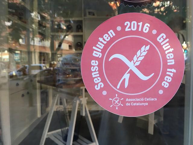 Barcelona sense gluten gluten-free approval from L'Associació Celíacs de Catalunya