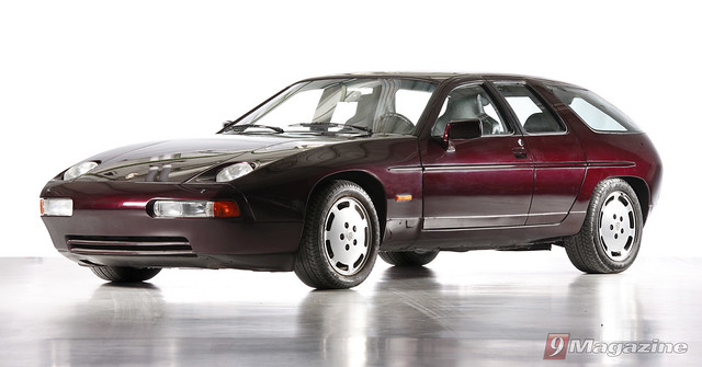 Porsche 928 ASC-Estate concept. Apparently two were produced.