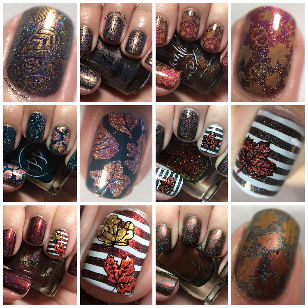 Fall Leaves Nail Art Extravaganza! | Newsie Nail Novice