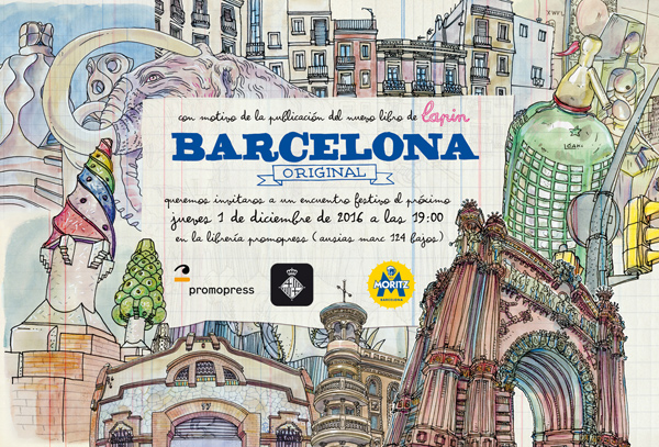 barcelona original book launching