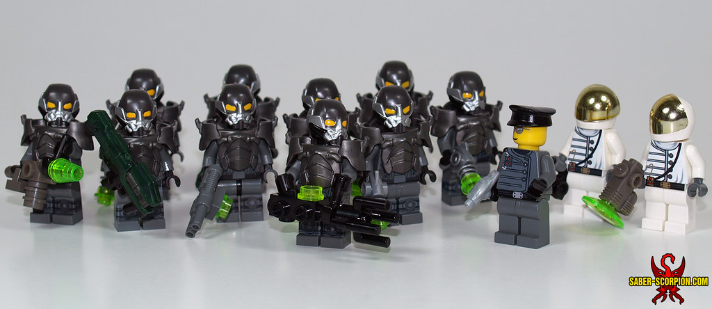 Lego Fallout Enclave Army A Closer Look At My Enclave