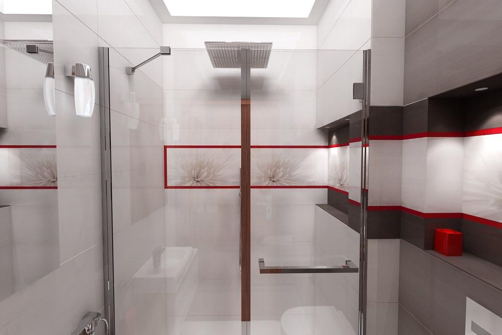 projekt łazienki - płytki Opoczno z kolekcji Avangarde - 0…  Flickr