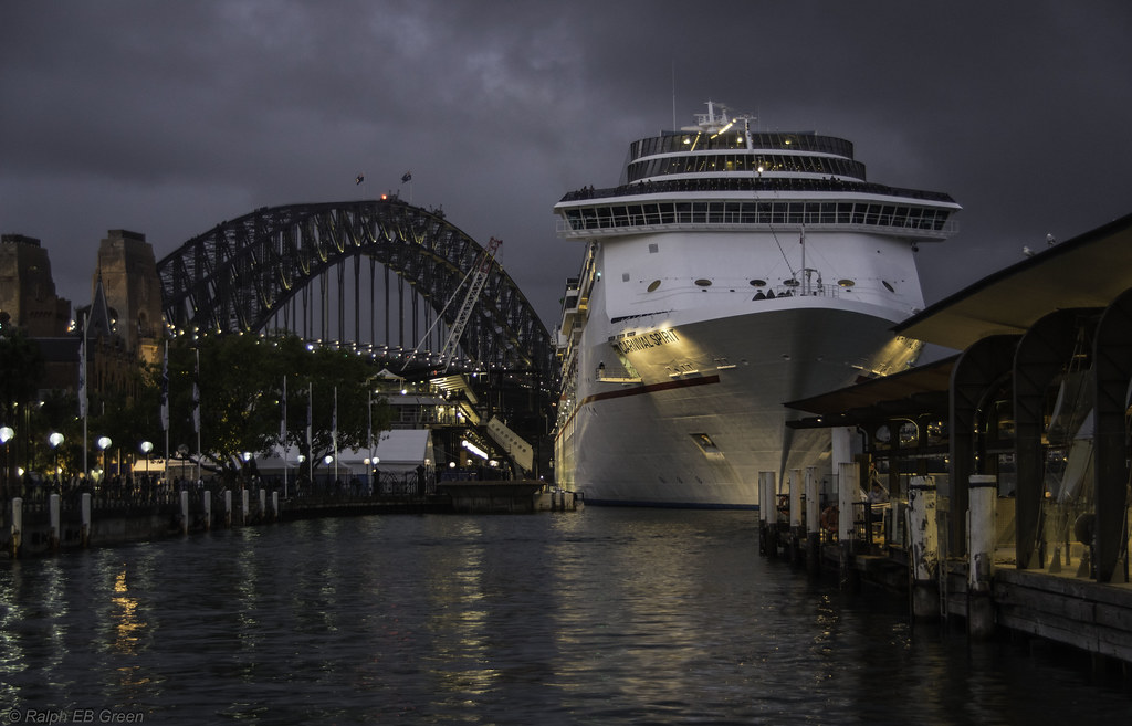 Cruise Ship At Circular Quay  Ralph Green  Flickr
