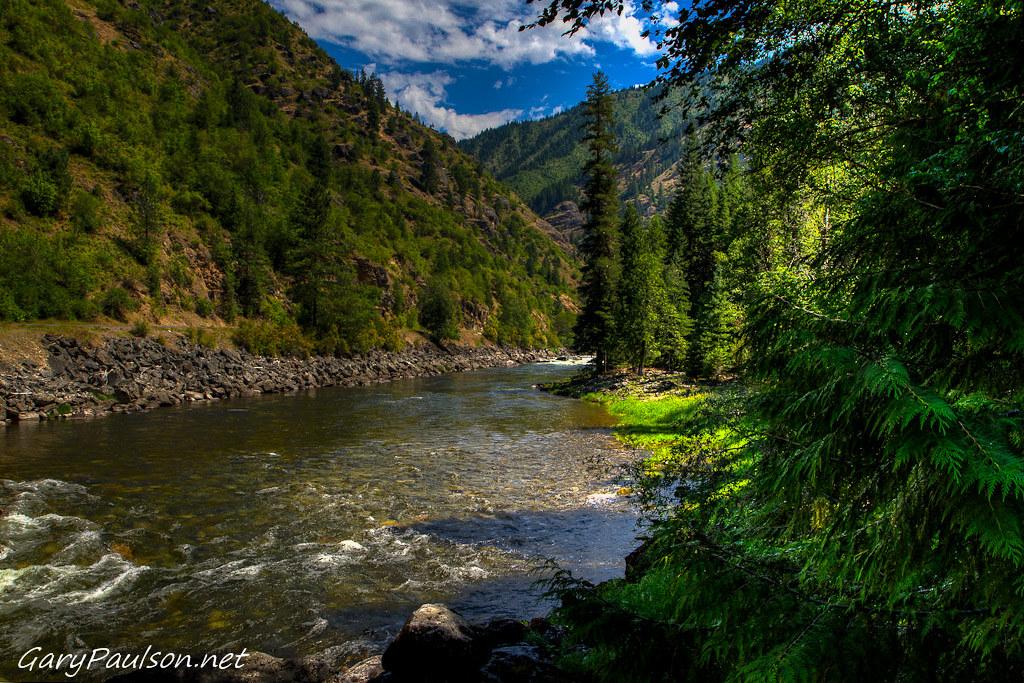 Lochsa river lochsa river at split creek by gary paulson for Idaho fish and game jobs