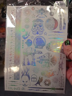 Claire's: Foil Star Wars Temporary Tattoos