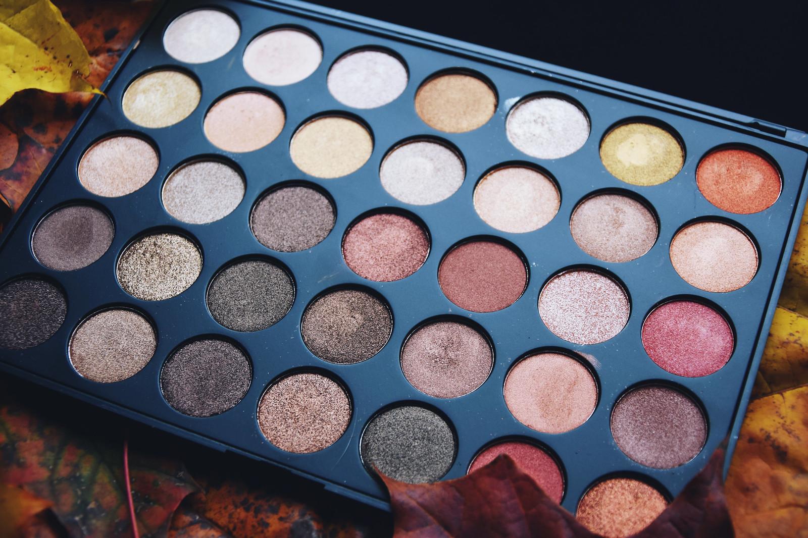 Morphe Brushes #35OS eyeshadow review