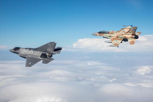 """""""Adir"""" F-35I Land in Israel"""
