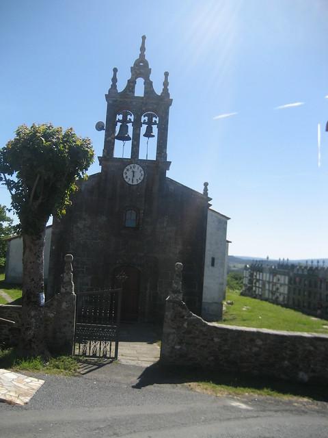 Iglesia del PR-G 125 Sendeiro de Visantoña