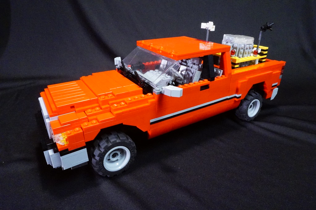Dodge Ram From Quot Twister Quot This Moc Is Of The Iconic