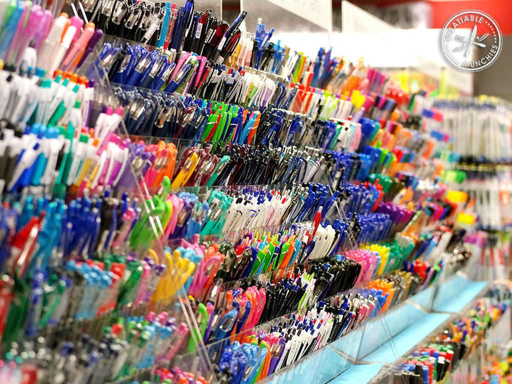 Stationery Aisle This Is A Typical Aisle In Popular A