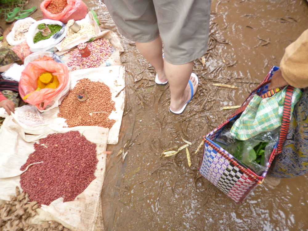 Disadvantages of visiting Myanmar during rainy season: Muddy ground
