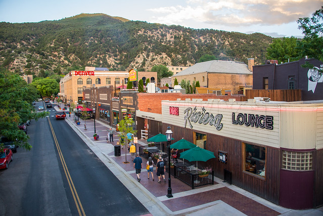 Seventh Street in Glenwood Springs