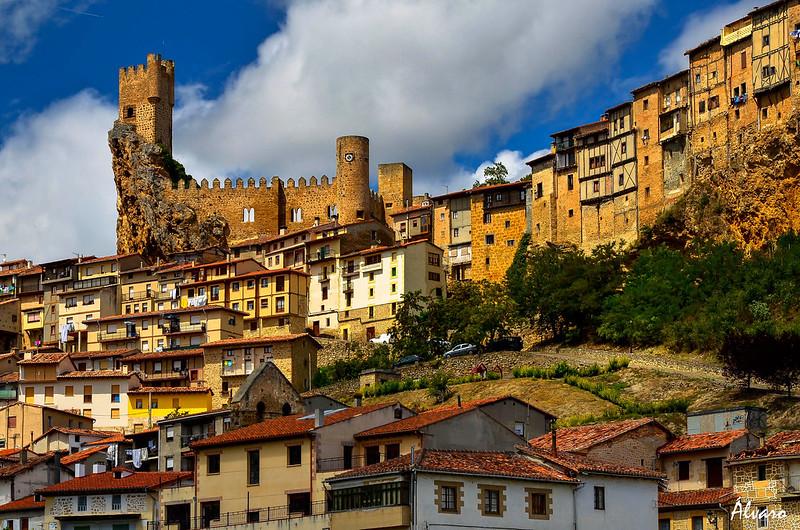 La ciudad medieval de Frías