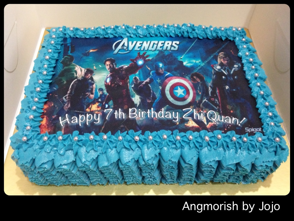 All sizes Marvel Avengers Cake Zhi Quan Flickr Photo Sharing