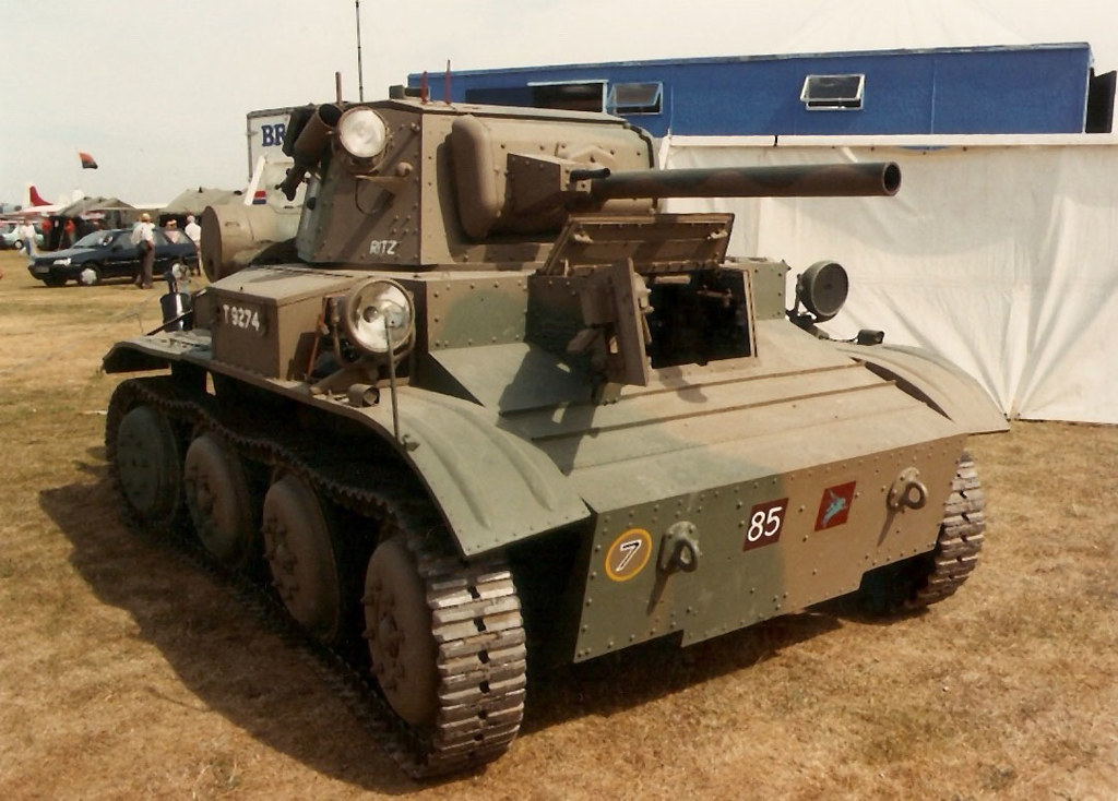 Bovington Tank Museum Tetrarch Duxford Military Vehicle Ra