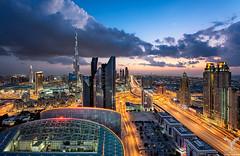 Dubai Cloudscape