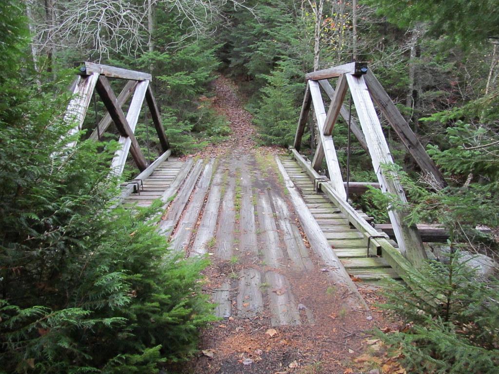 Ward Brook Truck Trail The Bridge Over Moose Creek