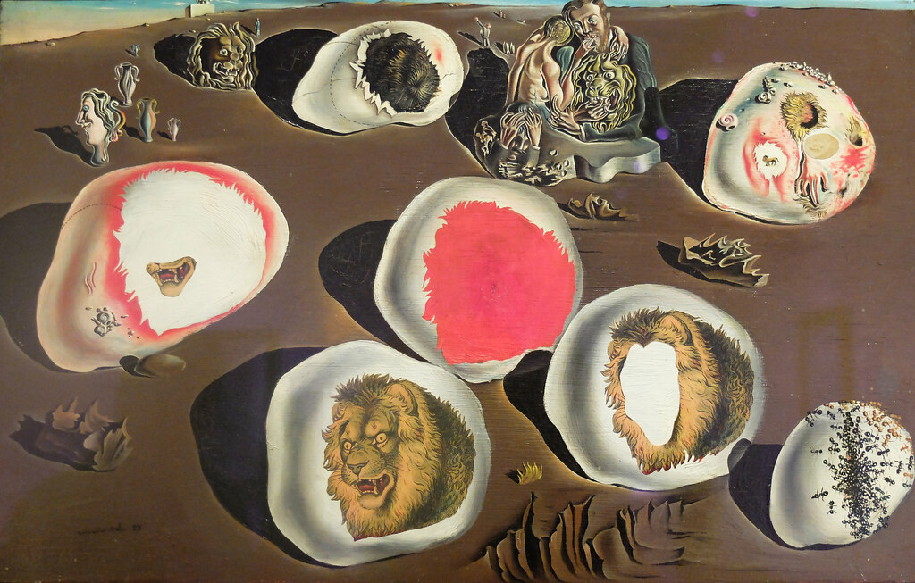 The Accommodations of Desire, 1929. | Salvador Dali ...