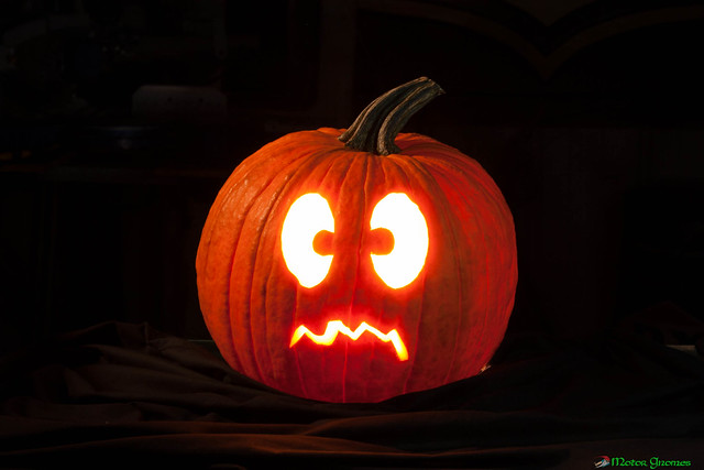 Scared Pumpkin | Flickr - Photo Sharing!