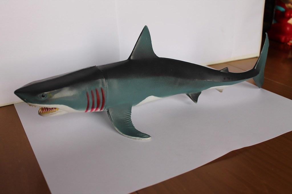 Gray Big Rubber Shark An Amazing And Big Rubber Shark