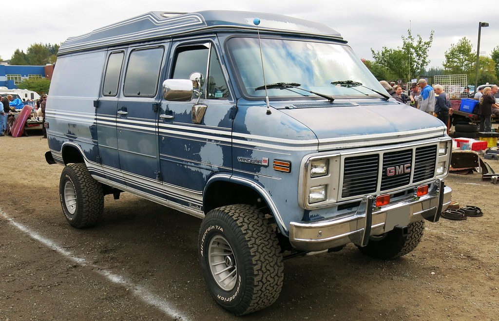 Chevy Conversion Vans 1985 GMC Vandura 2500 Van 4X4 | Custom_Cab | Flickr