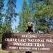 Buddy at Crater Lake