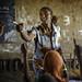Bizuye Solomon, 26, teaches at Alula ABEC (Alternative Basic Education Center)
