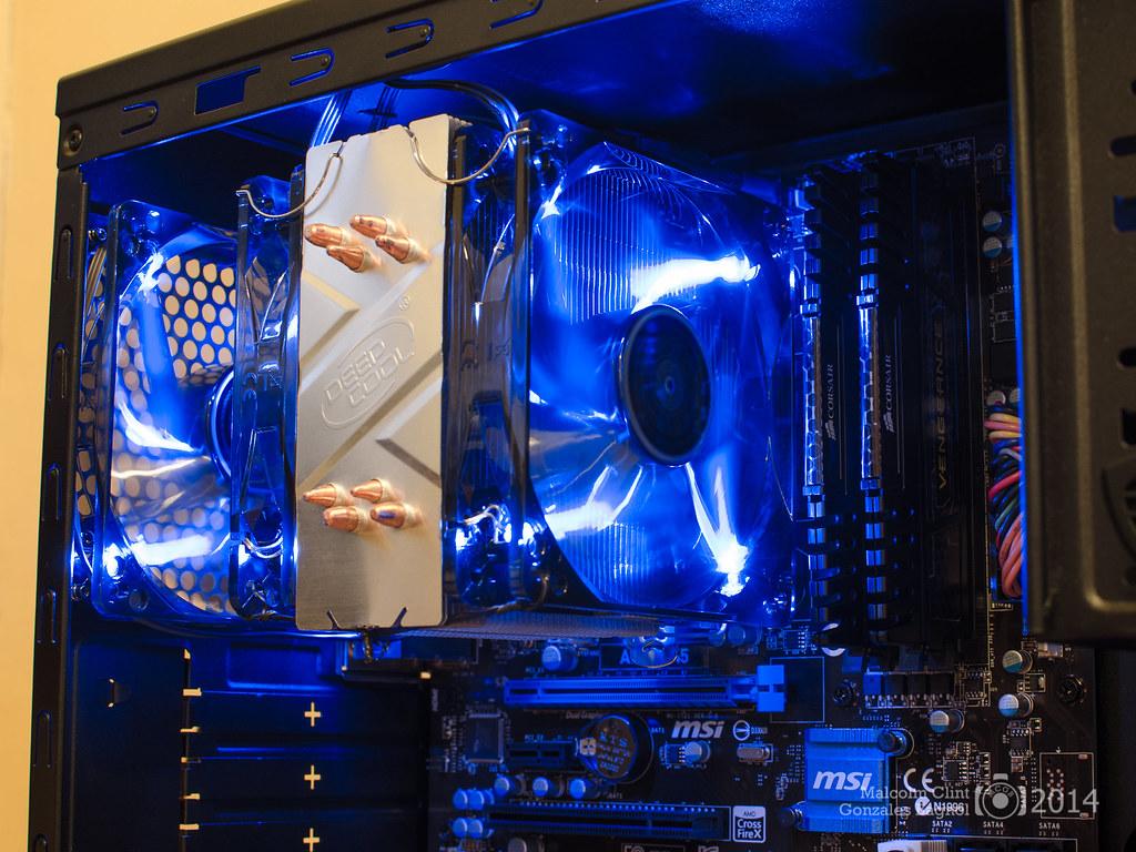 The DeepCool Gammaxx 400 With DeepCool 120mm Fan