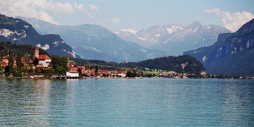 Lac de brienz canton de berne suisse bernard blanc - Lac de brienz ...