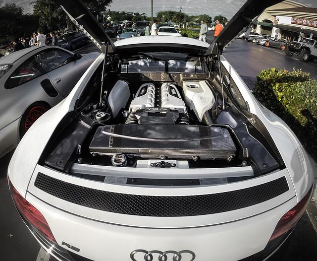 Audi R8 V10 Engine Bay Flickr Photo Sharing