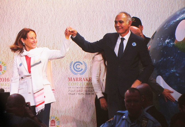 Opening COP22 in Marrakech