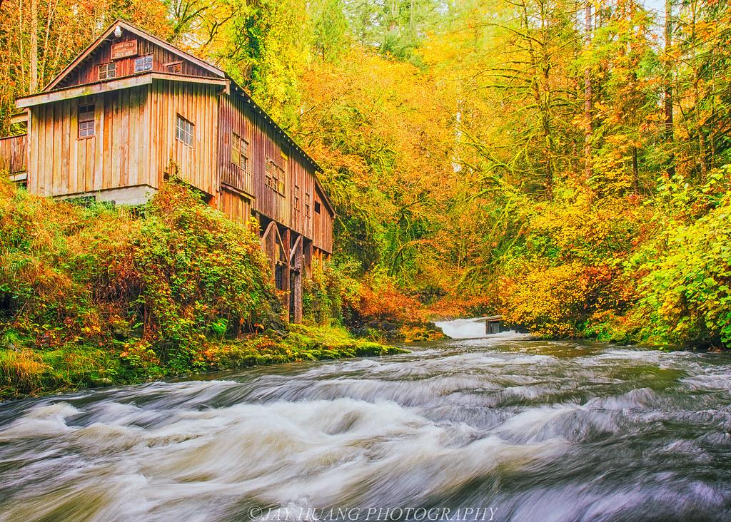 Fall colors at the grist mill cedar creek grist mill for The cedar mill