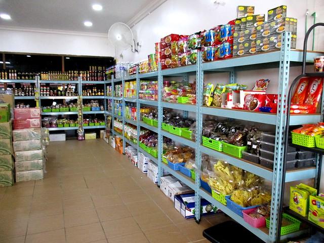 Mak Met's shop, inside