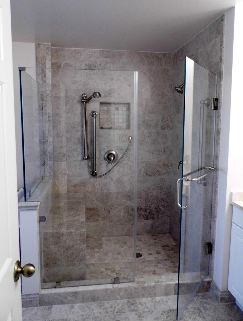 Home Renovation Ideas Walk In Shower In Master Bath Flickr