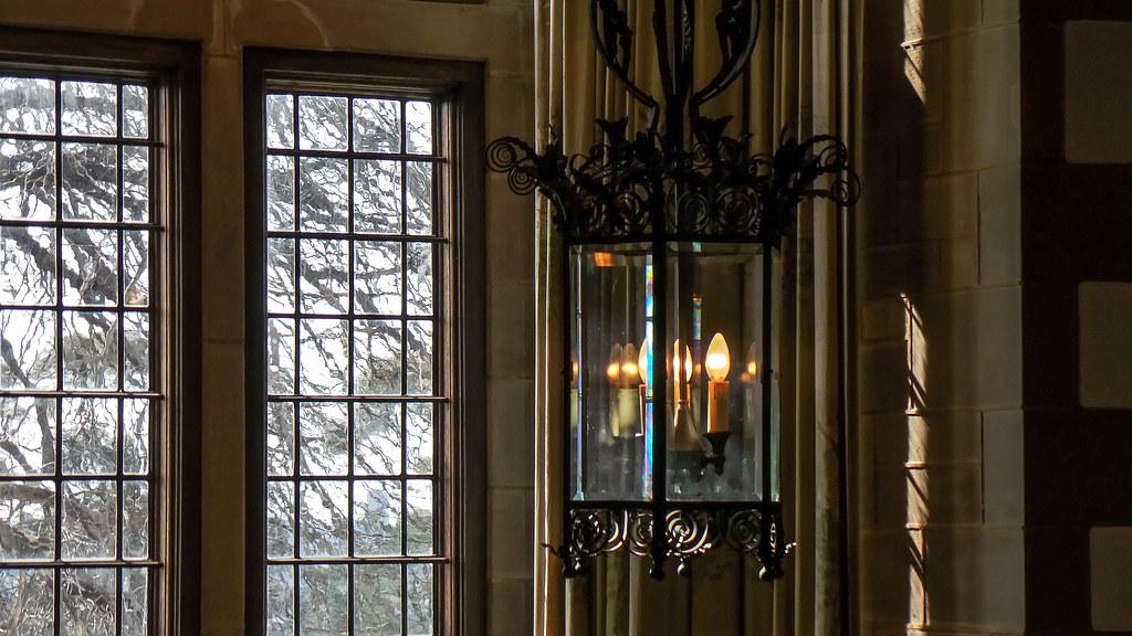 Warm Old Fashioned Window Inside