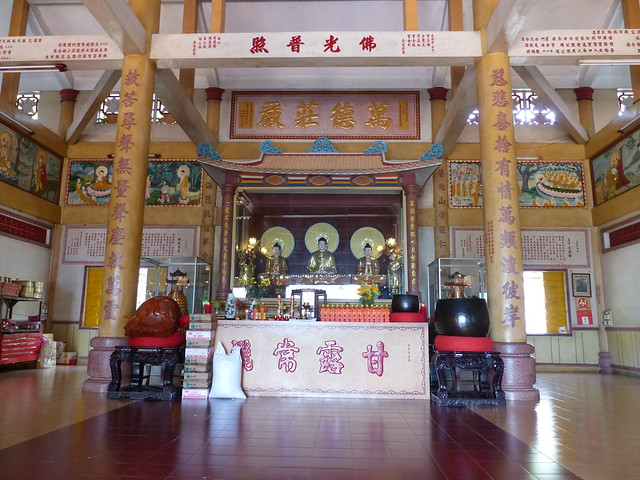 Shrine at the Wang Hai temple