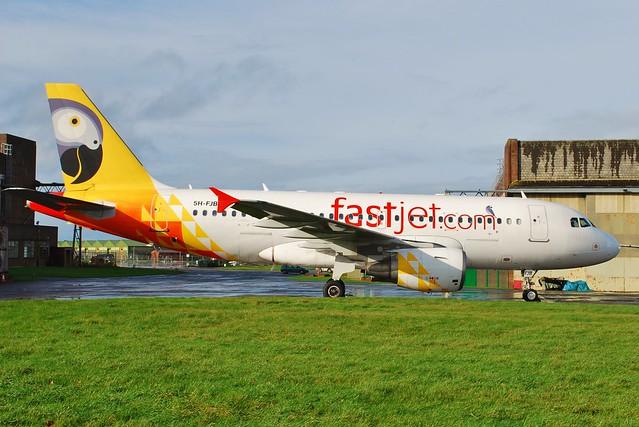 Airbus A319-122 5H-FJB Fastjet 7 Nov 14