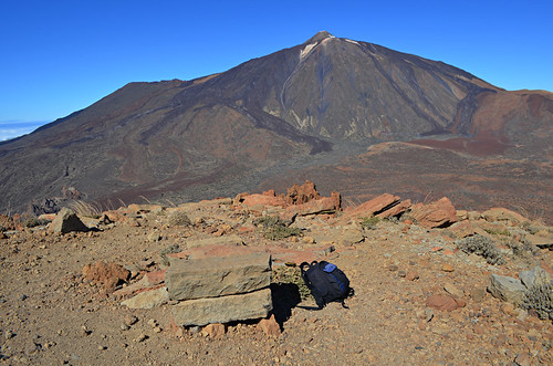 View of Mount Teide from Guajara, Tenerife