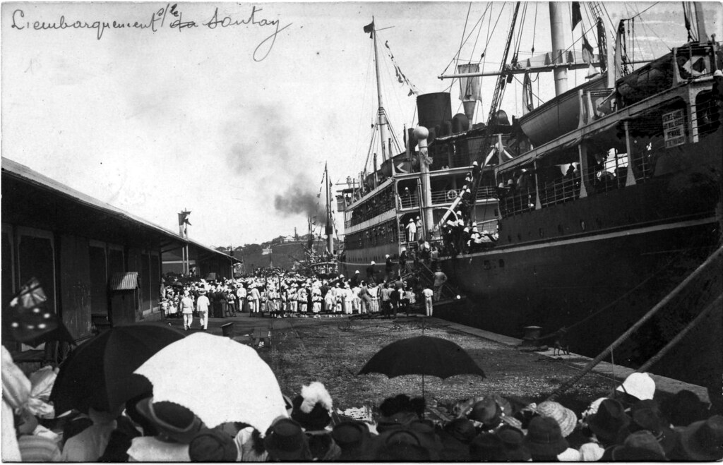 Sontay - troop ship | During the First World war she was ...